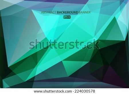 Blue, purple, pink geometric pattern, triangles background, polygonal design. Vector EPS 10 illustration. Vector EPS 10 illustration. - stock vector
