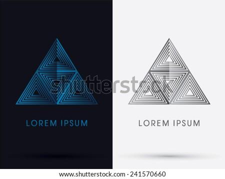 Blue Pyramid Logo Blue Pyramid Logo Symbol