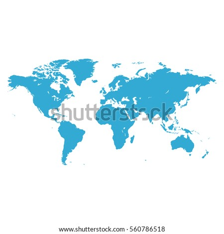 World Map Blank Stock Images RoyaltyFree Images Vectors