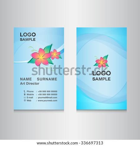 Blue sky business card designcard design stock vector hd royalty blue sky business card designcard design vector illustrationblue background flower reheart Image collections