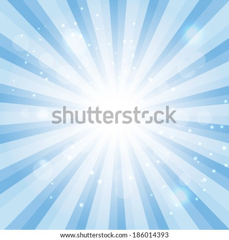 Blue Sky Hypnotic Background.Vector lllustration