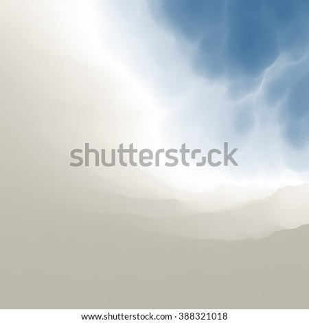Blue Sky With Clouds. Modern pattern. Nature background. Modern pattern. Abstract Background. Vector Illustration. - stock vector