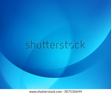 Blue smooth twist light lines vector background. Eps 10. - stock vector