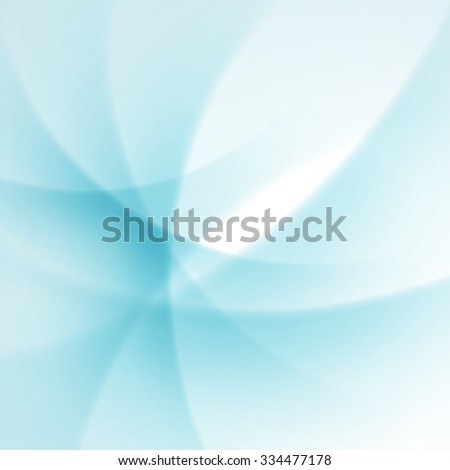 Blue smooth twist light lines vector background. Good for Brochure, Presentation, Advertising Banner, Flyer or Poster design. - stock vector