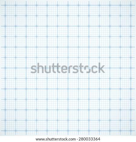 Blue square grid on white background. Vector illustration - stock vector