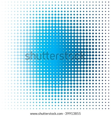 blue stain - stock vector
