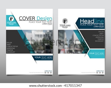Brochure template layout cover design annual report magazine flyer - Brochure Layout Design Stock Images Royalty Free Images