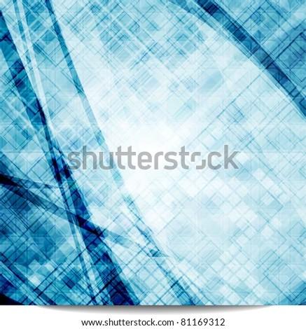 Blue textural background. Eps 10 vector illustration - stock vector