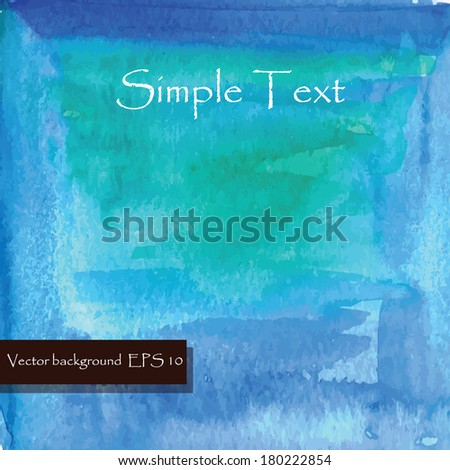 blue  texture background . Vector Illustration for you design. Abstract grunge painted scratched texture - stock vector