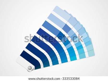 Blue tone - stock vector