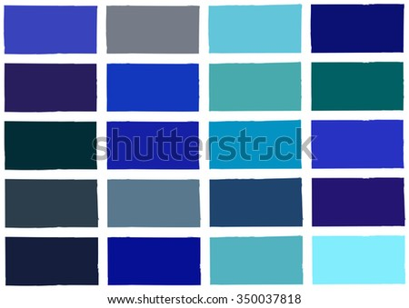 Blue Tone Color Shade Background Illustration