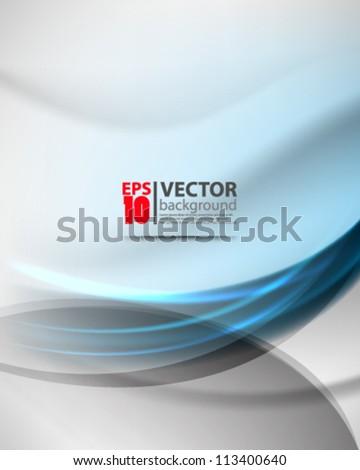 blue vector abstract design eps10 - stock vector