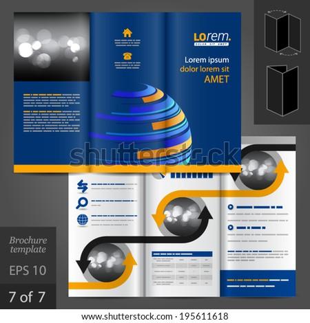 digital brochure template