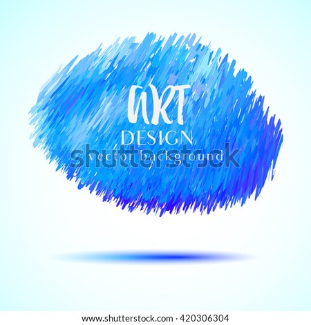 Blue vector striped background. Design element for graphic design, party flyers, brochure design, business presentation, post cards, book covers. Vector Illustration.  - stock vector
