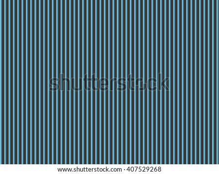 Blue vertical stripes. - stock vector