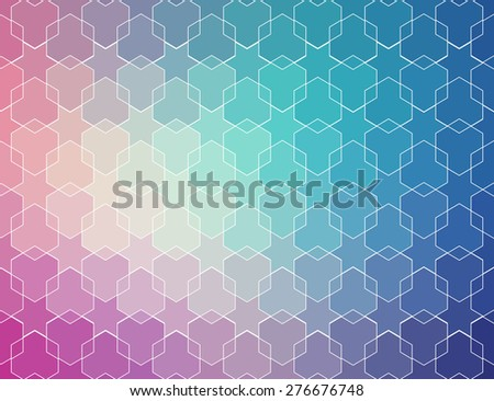 blue violet vintage pattern. Ethnic vector textured background for your design - stock vector