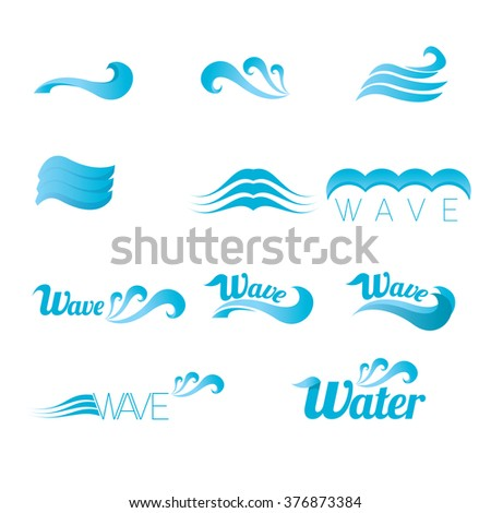 Abstract Wave Logo Designs