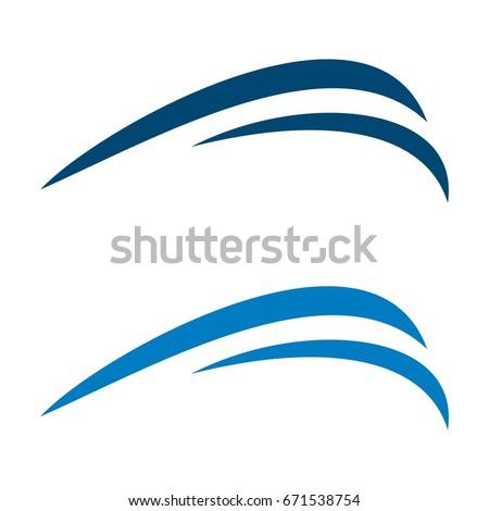 drop water swoosh logo template stock vector 544735336 shutterstock rh shutterstock com swoosh logo images swoosh logos answers