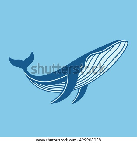 Whale logo stock images royalty free images vectors for Whale emblem on shirt