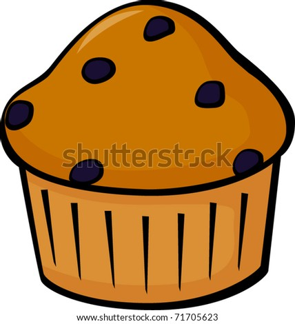 Blueberry Muffins Clipart Blueberry Muffin