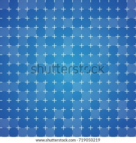 Blueprint background crossmarking grid vintage colorful stock vector blueprint background with cross marking grid vintage colorful texture vector illustration malvernweather Gallery