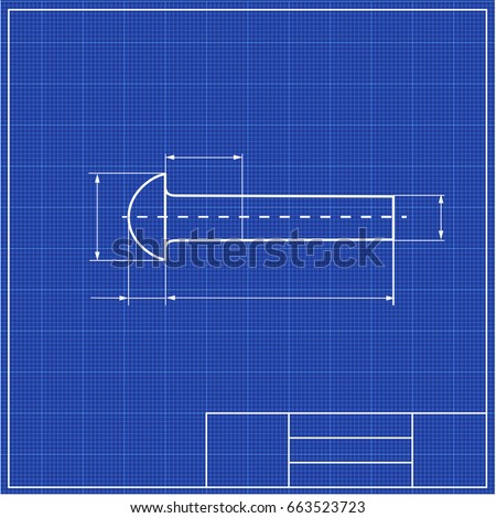 Blueprint screw profile framework scale blueprints vectores en stock blueprint screw profile with framework scale blueprints mechanical engineering drawings of gear cover malvernweather Image collections