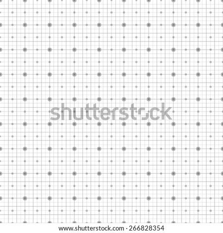 Blueprint technical grid background. Graphing scale engineering paper in vector format eps10 - stock vector