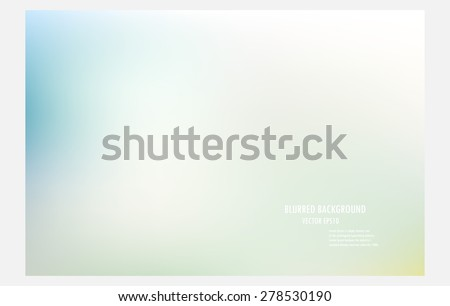 blur green background,colorful blurred background, vector illustration design wallpaper,abstract blur backdrop. - stock vector