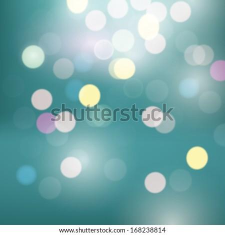 Blurred bokeh defocus background. Vector - stock vector
