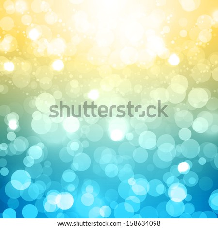 Blurred Festive Vector Background - stock vector