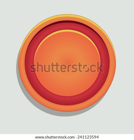 Board game piece - stock vector