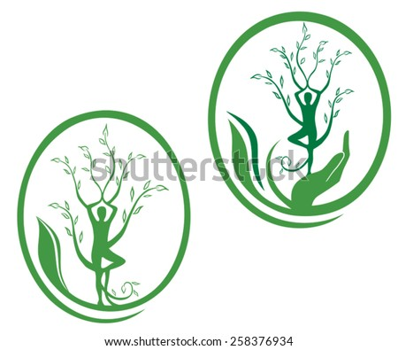 body healing - stock vector
