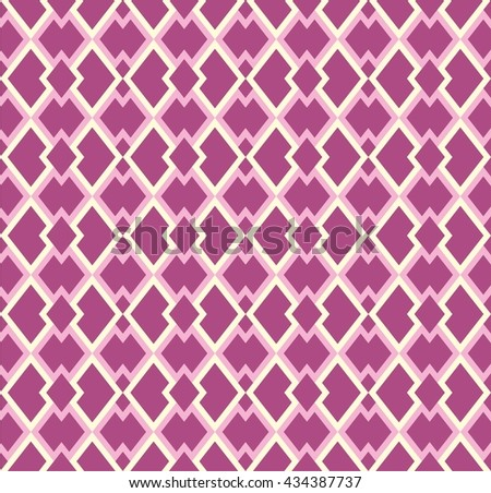 Boho seamless pattern with tribal aztec ornament. Abstract vector wallpaper in ethno syle.