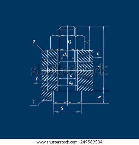 Bolts Drawing Stock Images Royalty Free Images Amp Vectors