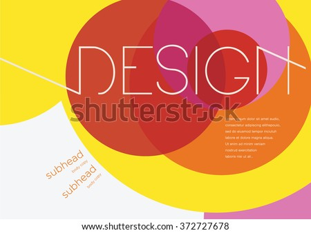 Book cover /Background design /Graphics /Layout /Content page/ - stock vector