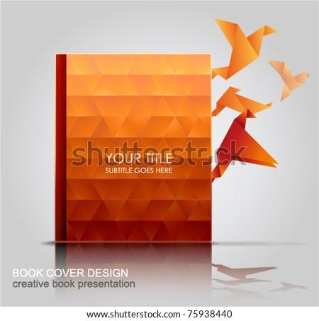 Book Cover, Creative Book Presentation. - stock vector