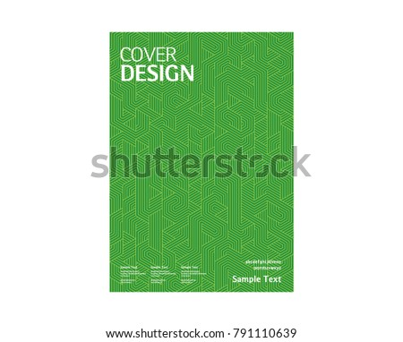 Book cover design pattern background annual stock vector 791110639 book cover design pattern background annual report vector template maxwellsz
