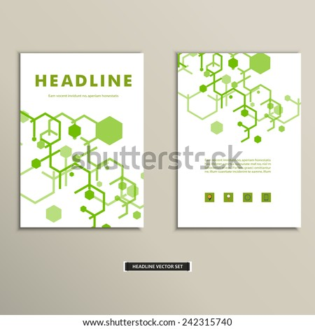 Book cover with abstract figures connected lines.