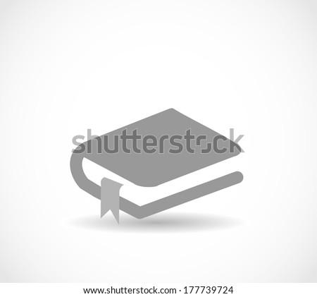 Book icon VECTOR - stock vector