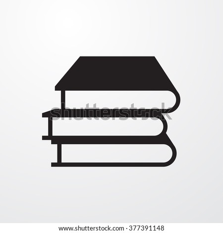 Book Icon Vector Illustration  - stock vector