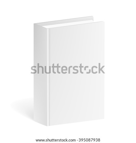 Book Mockup isolated on a white background. Book Mockup for corporate busines identity presentation. Book Mockup Isolated. Book Mockup 3D.Book Mockup for branding. Book Mockup  Illustration  - stock vector