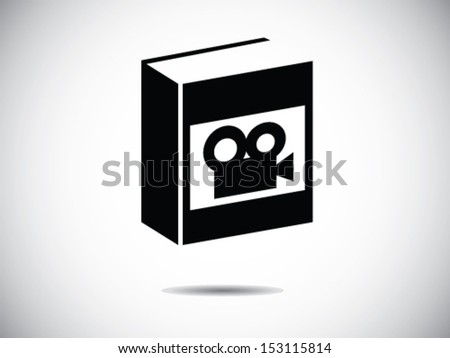Book Of Video graphy - stock vector