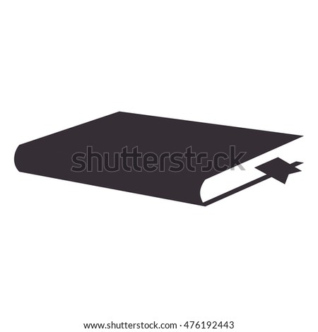 book read education knowledge library vector illustration