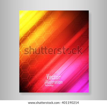 Book six coving wave abstract vector backgrounds abstract, vector backgrounds  - stock vector
