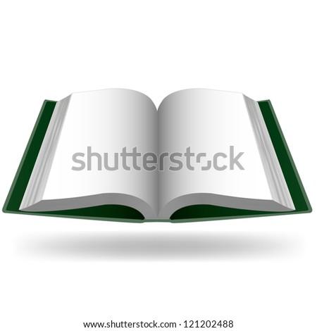 book  vector - stock vector