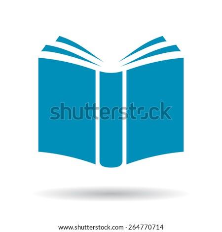 Book vector icon - stock vector