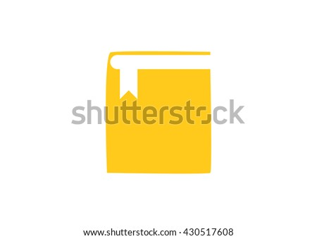 book web icon. vector design