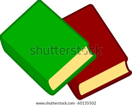 books - stock vector