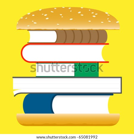 Books hamburger â?? fast food