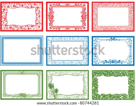 Border Frame - stock vector